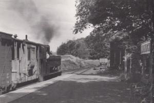 Engine 1646 Train at Dornoch Station in 1960 Railway Postcard