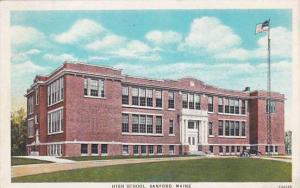 Maine Sanford High School 1930