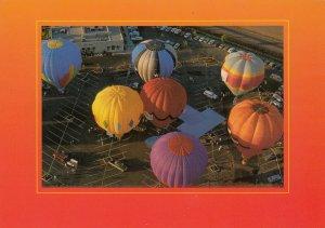 HOT AIR BALLOON races, Northern CALIFORNIA, 1980-90s