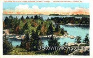 Mac Mahan Island Boothbay Harbor ME Unused