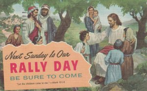 RALLY DAY , 1957 ; Children & Jesus