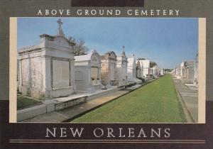 Louisiana New Orleans Above Ground Cemetery