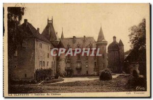 Old Postcard The shelf Interieur du Chateau