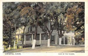 Kutztown Pennsylvania Crystal Cave Tavern Antique Postcard K44585