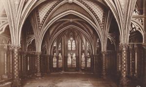 RP, Ste. Chapelle, La Crypte, PARIS, France, 1920-1940s