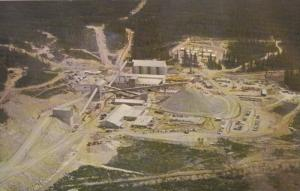 FRASER LAKE, British Columbia, Canada, 1940-1960´s; Aerial View, Endako Mines