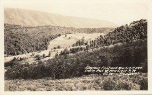 RP, NEW CREEK, West Virginia, 20-40s; Alleghany Front & New Creek Mts.