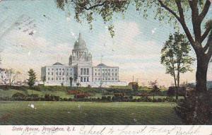 Rhode Island Providence State House 1905
