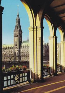 Germany Hamburg Rathaus City Hall
