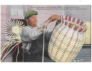 Cherokee Indian Basket Maker Great Smoky Mountain National  Park