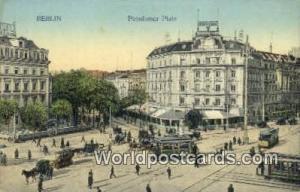 Berlin Germany, Deutschland Postcard Potsdamer Platz  Potsdamer Platz