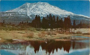 Postcard Mt. Shasta