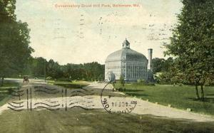 MD - Baltimore, Druid Hill Park, Conservatory