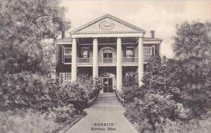 Mississippi Natchez Rosalie Albertype