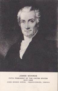 James Monroe 5th President Of The United States Of America Albertype