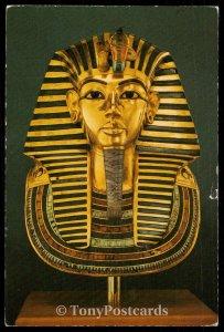 The Gold Mummy Mask