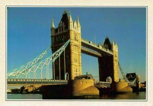 Engeland London Tower Bridge River Postcard