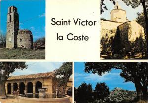 BR21287 Saint Victor la Coste La chapelle de Saint martin    france