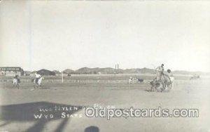 Wyo State Fair Douglas 1910, Western Cowboy Postcard Postcards 1920