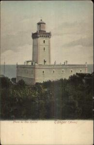 Tanger Morocco Tangier c1910 Postcard -Cap Spartel Lighthouse c1905 Postcard