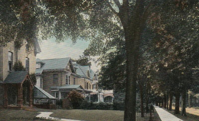 LONDON, Ontario , 1900-10s ; Queens Avenue