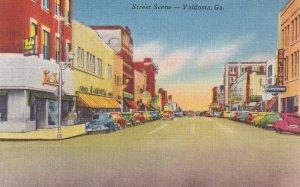 VALDOSTA, Georgia, 1930-1940s; Street Scene, Dowling's Furniture