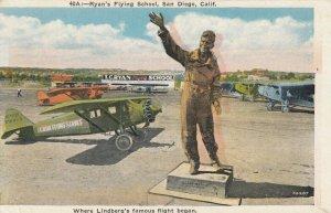 SAN DIEGO , California, 1910s ; Ryan's Flying School