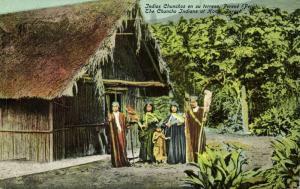 peru, PERENÉ, Native Chuncho Indians at Home (1910s)