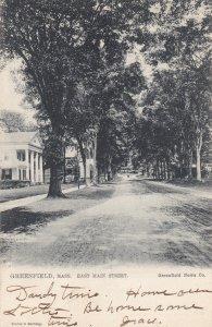 GREENFIELD, Massachusetts, 1905; East Main Street, TUCK 2281