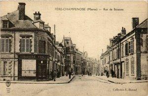 CPA FERE-CHAMPENOISE Rue de Sézanne (864569)