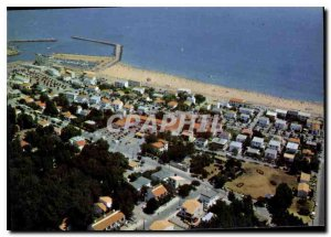 Postcard Modern Littoral Languedoc Marseillan Beach port and residences