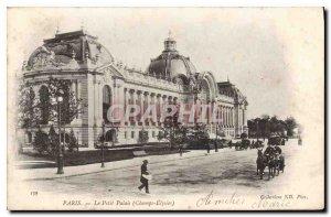 Old Postcard Paris Petit Palais Champ Elysees