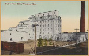 Ogilvie Flour Mills, Winnipeg, Manitoba