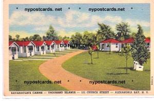 Kavanaugh's Cabins, Alexandria Bay NY