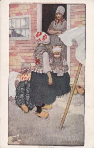 NETHERLANDS, 1900-10s; Wasch-Dag