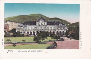 NICE, Alpes Maritimes, France, 1900-1910's; Le Casino Et Jardin Public