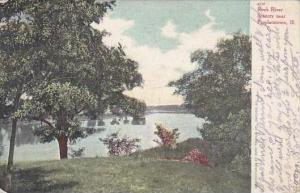 Illinois Propheistown Rock River Scenery 1910