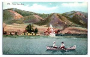 Early 1900s Palmer Lake, CO Postcard