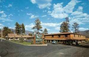 SILVER SPUR MOTEL N. Durango, Colorado Roadside 1962 Chrome Vintage Postcard