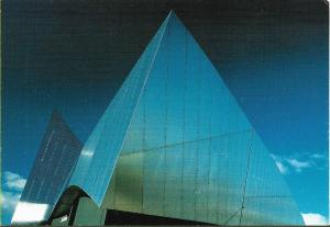 Imperial war Museum North, Earth Shard - a colour photograph by Len Grant