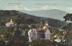 Sanatorium D Dr. A. Frey U. F. Dengler, Baden-Baden (Baden-Wurttemberg), Germ...