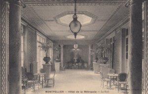 MONTPELLIER, Herault, France, 1900-1910's; Hotel de la Metropole - Le Hall
