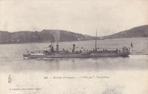 Warship: Marine Francaise.-L'Elcair , Torplleur , France , 1914-18