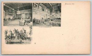 Albany New York~Governor's Room, Mansion @ Capitol~Vignette  c1910 Postcard
