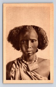Postcard Africa East Africa Young Somali Woman Africa Orientale Giovane Somal...