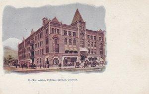 COLORADO SPRINGS , Colorado , 1901-07 ; The Alamo Hotel