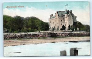 *1907 Barnbougle Castle Cramond Queensferry West Lothian Scotland Postcard A13