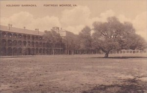 Soldiers Barracks Fortress Monroe Virginia