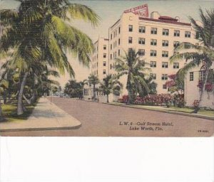 Florida Lake Worth Gulf Stream Hotel 1956