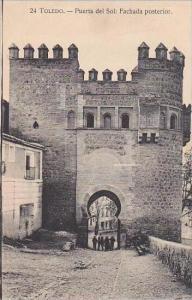 Spain Toledo Puerta del Sol Fachade posterior